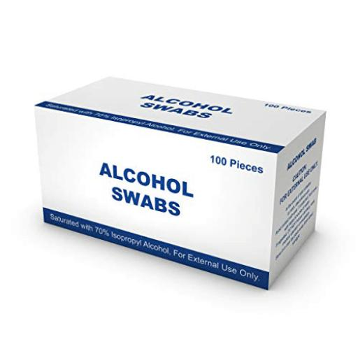 Alcohol swabs- Box of 100