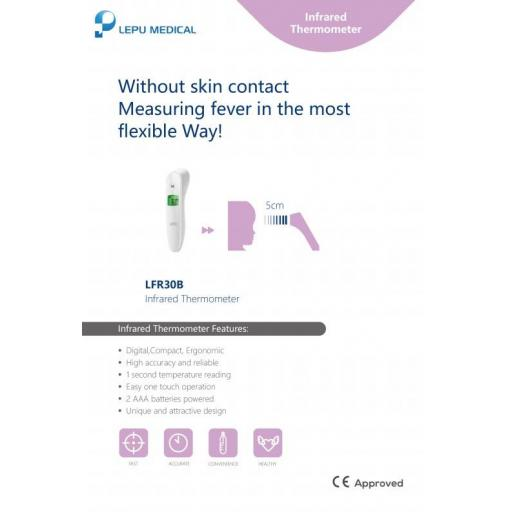 Forehead Non Contact Thermometer