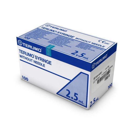 Terumo Luer Lock 2.5ml Syringes