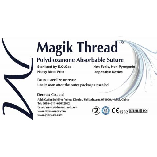 PDO thread - mono 30G 25mm pack of 50 threads