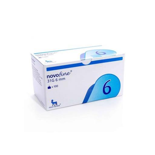 Novofine Needles 31g x 6mm x 25